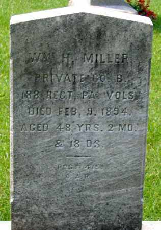 MILLER, WILLAM H. - Cumberland County, Pennsylvania | WILLAM H. MILLER - Pennsylvania Gravestone Photos