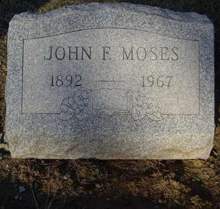 MOSES, JOHN F - Cumberland County, Pennsylvania | JOHN F MOSES - Pennsylvania Gravestone Photos