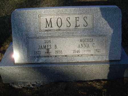 MOSES, ANNA C - Cumberland County, Pennsylvania | ANNA C MOSES - Pennsylvania Gravestone Photos