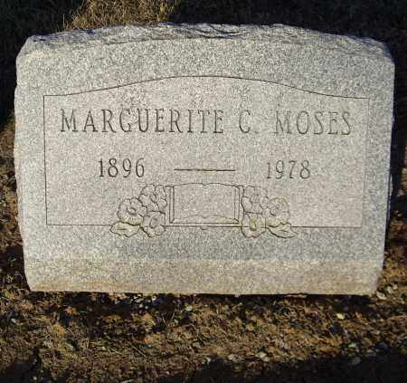 MOSES, MARGUERITE C - Cumberland County, Pennsylvania | MARGUERITE C MOSES - Pennsylvania Gravestone Photos