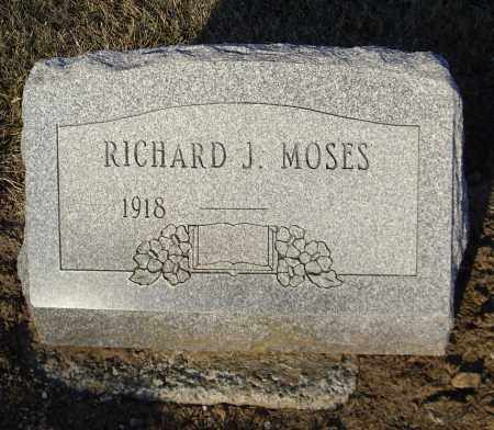 MOSES, RICHARD J - Cumberland County, Pennsylvania | RICHARD J MOSES - Pennsylvania Gravestone Photos