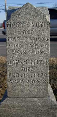 MOYER, JAMES - Cumberland County, Pennsylvania   JAMES MOYER - Pennsylvania Gravestone Photos