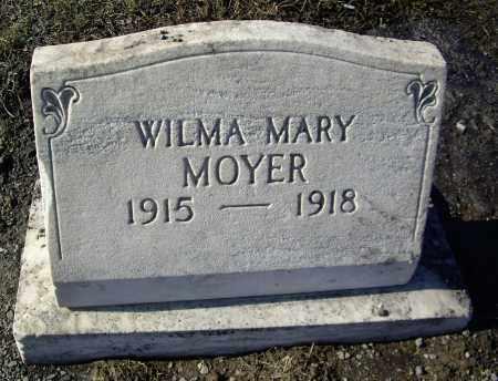 MOYER, WILMA MARY - Cumberland County, Pennsylvania | WILMA MARY MOYER - Pennsylvania Gravestone Photos