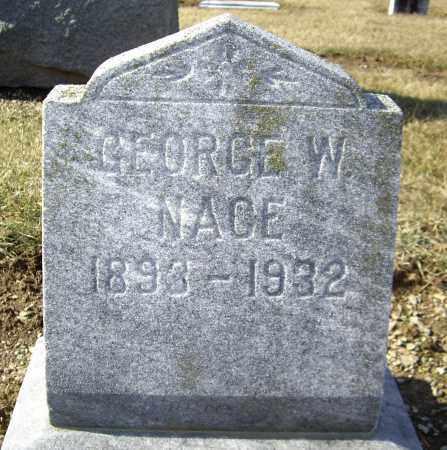 NACE, GEORGE W. - Cumberland County, Pennsylvania | GEORGE W. NACE - Pennsylvania Gravestone Photos