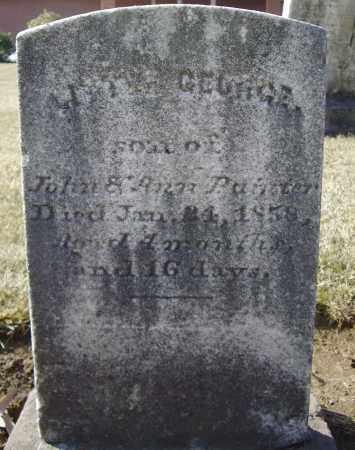 PAINTER, GEORGE - Cumberland County, Pennsylvania   GEORGE PAINTER - Pennsylvania Gravestone Photos