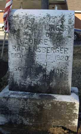 LINGLE RAFFENSBERGER, ALICE L - Cumberland County, Pennsylvania   ALICE L LINGLE RAFFENSBERGER - Pennsylvania Gravestone Photos
