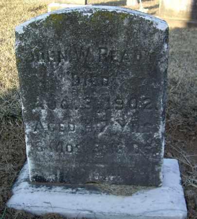 READY, JOHN W - Cumberland County, Pennsylvania   JOHN W READY - Pennsylvania Gravestone Photos