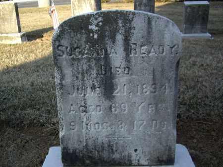 READY, SUSANNA - Cumberland County, Pennsylvania | SUSANNA READY - Pennsylvania Gravestone Photos