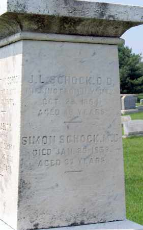 SCHOCK, SIMON - Cumberland County, Pennsylvania | SIMON SCHOCK - Pennsylvania Gravestone Photos