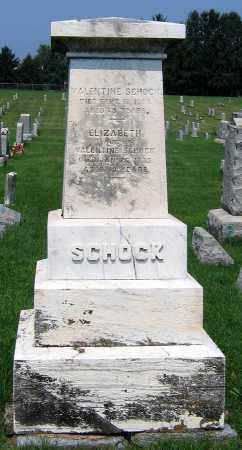 SCHOCK, ELIZABETH - Cumberland County, Pennsylvania | ELIZABETH SCHOCK - Pennsylvania Gravestone Photos