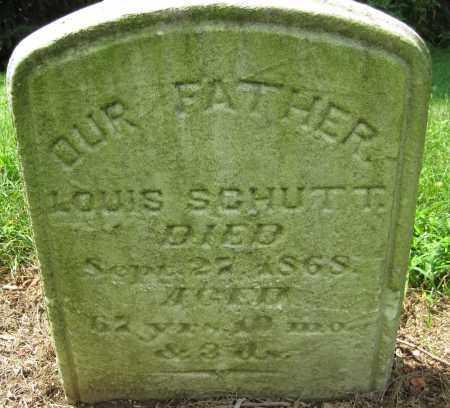 SCHUTT, LOUIS - Cumberland County, Pennsylvania | LOUIS SCHUTT - Pennsylvania Gravestone Photos