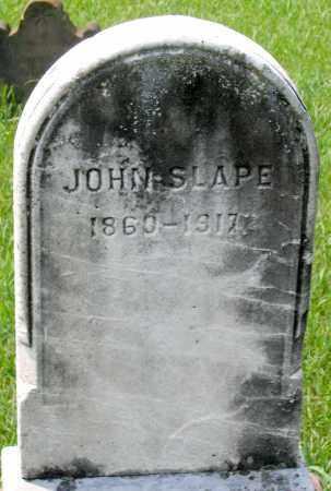 SLAPE, JOHN - Cumberland County, Pennsylvania | JOHN SLAPE - Pennsylvania Gravestone Photos