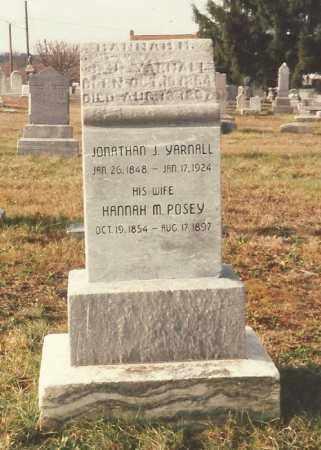 YARNALL, JONATHAN J - Cumberland County, Pennsylvania | JONATHAN J YARNALL - Pennsylvania Gravestone Photos