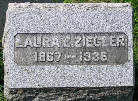 ZIEGLER, LAURA E. - Cumberland County, Pennsylvania | LAURA E. ZIEGLER - Pennsylvania Gravestone Photos