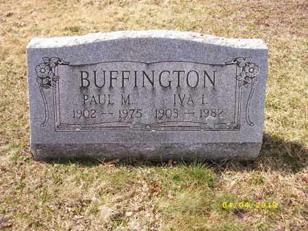 BUFFINGTON, IVA IRENA - Dauphin County, Pennsylvania | IVA IRENA BUFFINGTON - Pennsylvania Gravestone Photos