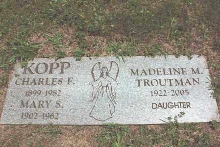 KOPP, CHARLES - Dauphin County, Pennsylvania | CHARLES KOPP - Pennsylvania Gravestone Photos