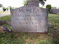 MCMEEN, FOSTER CLAIR - Dauphin County, Pennsylvania | FOSTER CLAIR MCMEEN - Pennsylvania Gravestone Photos