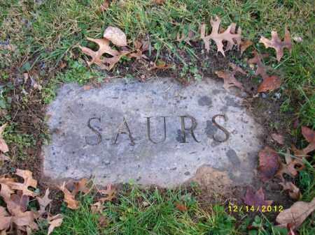 SAURS, WILLIAM - Dauphin County, Pennsylvania | WILLIAM SAURS - Pennsylvania Gravestone Photos