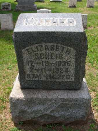 SCHEIB, ELIZABETH - Dauphin County, Pennsylvania | ELIZABETH SCHEIB - Pennsylvania Gravestone Photos