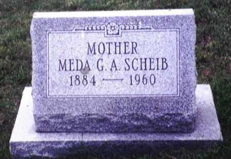 LEBO SCHEIB, MEDA GERTRUDE ALICE - Dauphin County, Pennsylvania | MEDA GERTRUDE ALICE LEBO SCHEIB - Pennsylvania Gravestone Photos