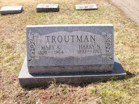 TROUTMAN, HARRY NORMAN THEODORE - Dauphin County, Pennsylvania | HARRY NORMAN THEODORE TROUTMAN - Pennsylvania Gravestone Photos