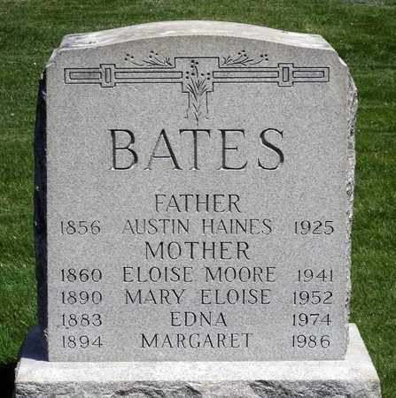 BATES, MARGARET - Delaware County, Pennsylvania | MARGARET BATES - Pennsylvania Gravestone Photos