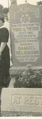 SELIGSHON, SAMUEL - Delaware County, Pennsylvania | SAMUEL SELIGSHON - Pennsylvania Gravestone Photos