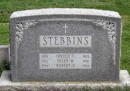 STEBBINS, ROBERT D. - Delaware County, Pennsylvania | ROBERT D. STEBBINS - Pennsylvania Gravestone Photos