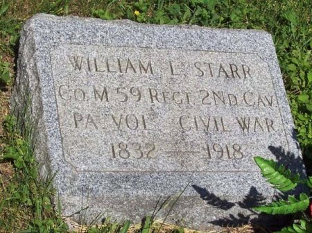 STARR (CW), WILLIAM L. - Elk County, Pennsylvania | WILLIAM L. STARR (CW) - Pennsylvania Gravestone Photos
