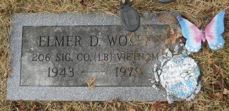 WOLFF, ELMER D. - Elk County, Pennsylvania | ELMER D. WOLFF - Pennsylvania Gravestone Photos