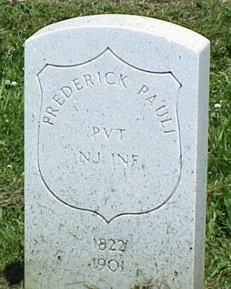 PAULI (CW), FREDERICK - Erie County, Pennsylvania | FREDERICK PAULI (CW) - Pennsylvania Gravestone Photos