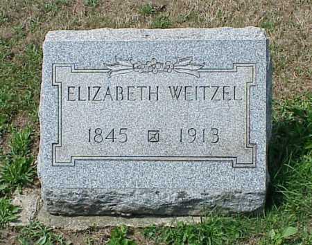 WEITZEL, ELIZABETH - Erie County, Pennsylvania | ELIZABETH WEITZEL - Pennsylvania Gravestone Photos
