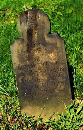 LECKEY, ELIZABETH - Fayette County, Pennsylvania | ELIZABETH LECKEY - Pennsylvania Gravestone Photos