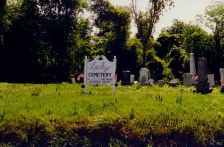 LECKY, CEMETERY - Fayette County, Pennsylvania | CEMETERY LECKY - Pennsylvania Gravestone Photos