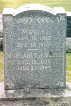 TAYLOR MAGEE, MARGARET J. - Franklin County, Pennsylvania | MARGARET J. TAYLOR MAGEE - Pennsylvania Gravestone Photos