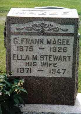 STEWART MAGEE, ELLA M. - Franklin County, Pennsylvania | ELLA M. STEWART MAGEE - Pennsylvania Gravestone Photos