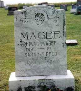 MAGEE, SARAH E. - Franklin County, Pennsylvania | SARAH E. MAGEE - Pennsylvania Gravestone Photos