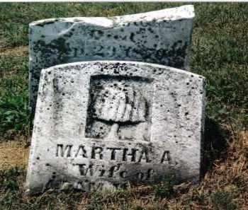 MAGEE, MARTHA A. - Franklin County, Pennsylvania   MARTHA A. MAGEE - Pennsylvania Gravestone Photos