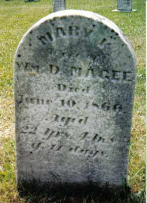 MAGEE, MARY K. - Franklin County, Pennsylvania | MARY K. MAGEE - Pennsylvania Gravestone Photos