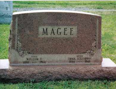 MAGEE, WILLIAM TAYLOR - Franklin County, Pennsylvania | WILLIAM TAYLOR MAGEE - Pennsylvania Gravestone Photos