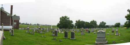SALEM LUTHERAN CHURCH CEMETERY, VIEW OF WEST FIELD - Franklin County, Pennsylvania   VIEW OF WEST FIELD SALEM LUTHERAN CHURCH CEMETERY - Pennsylvania Gravestone Photos