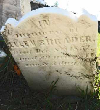 SHRADER, ELLEN - Franklin County, Pennsylvania | ELLEN SHRADER - Pennsylvania Gravestone Photos