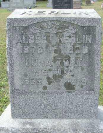 KERLIN, LUNA LOUISE - Fulton County, Pennsylvania | LUNA LOUISE KERLIN - Pennsylvania Gravestone Photos