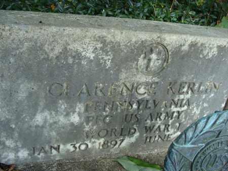 KERLIN, CLARENCE - Fulton County, Pennsylvania | CLARENCE KERLIN - Pennsylvania Gravestone Photos