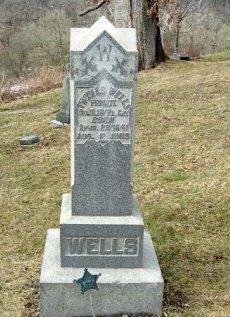 WELLS (CW), THOMAS - Greene County, Pennsylvania   THOMAS WELLS (CW) - Pennsylvania Gravestone Photos