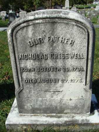 CRESSWELL, NICHOLAS - Huntingdon County, Pennsylvania   NICHOLAS CRESSWELL - Pennsylvania Gravestone Photos