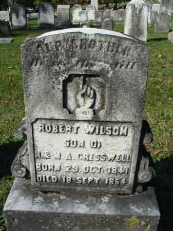 CRESSWELL, ROBERT WILSON - Huntingdon County, Pennsylvania | ROBERT WILSON CRESSWELL - Pennsylvania Gravestone Photos