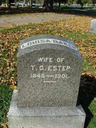 ESTEP, LOUISA - Huntingdon County, Pennsylvania | LOUISA ESTEP - Pennsylvania Gravestone Photos