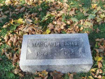 ESTEP, MARGARET - Huntingdon County, Pennsylvania | MARGARET ESTEP - Pennsylvania Gravestone Photos