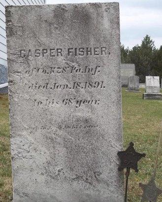 FISHER (CW), CASPER - Huntingdon County, Pennsylvania | CASPER FISHER (CW) - Pennsylvania Gravestone Photos